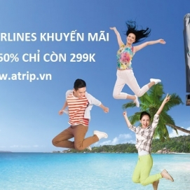 Vietnam Airlines khuyến mãi chào hè giảm giá 50%