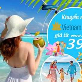 Vietnam Airlines khuyến mãi tết 2018