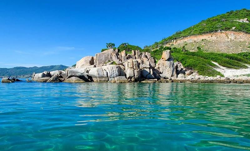 Khám phá biển Ninh Chữ 6